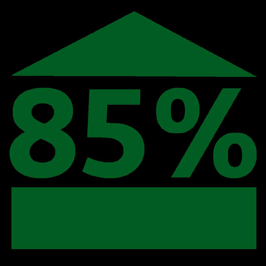 85% No Lenders Mortgage Insurance